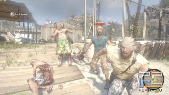 Dead Island - Прием крайне эмоциальный - сразу видно, проголодались зомби