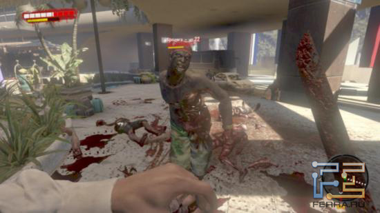 Одной из главной особенностей Dead Island является достоверная модель повреждений - зомби можно буквально расчленить на кусочки