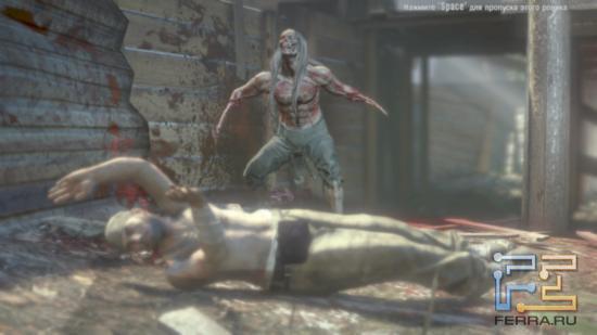 Почти каждый новый вид зомби в Dead Island предваряется небольшим роликом на движке игры