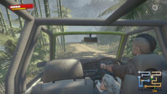 Dead Island - Заняв место пассажира, можно отстреливать зомби прямо на ходу