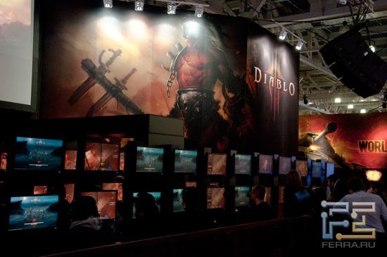 Diablo III - одно из самых грандиозных событий Игромира 2011