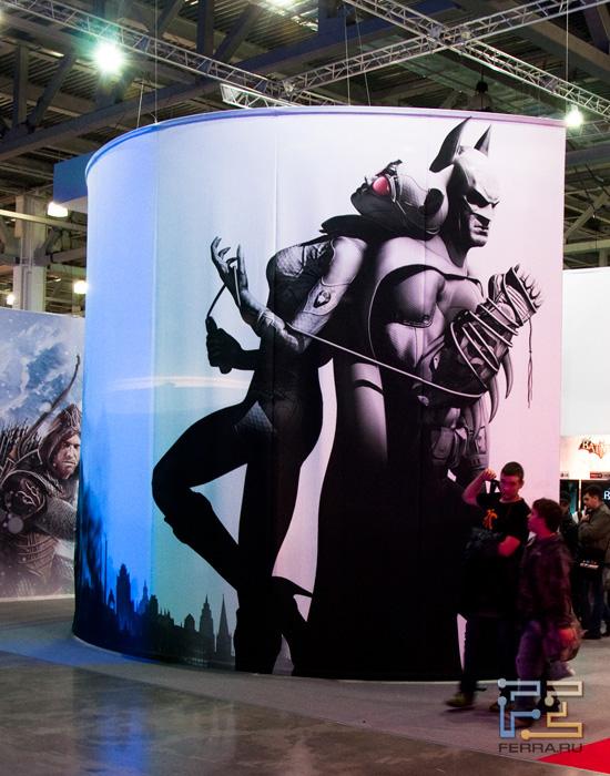 Дом Batman - Arkham City на Игромире 2011