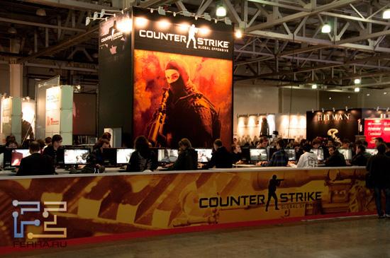Counter Strike на выставке Игромир 2011