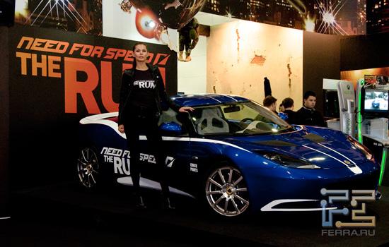 Need For Speed - The Run на Игромире 2011