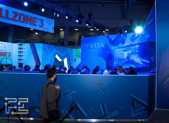 Killzone 3 и PS Vita на выставке Игромир 2011