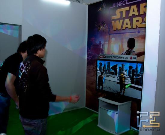 Kinect и настоящие джедаи на выставке Игромир 2011