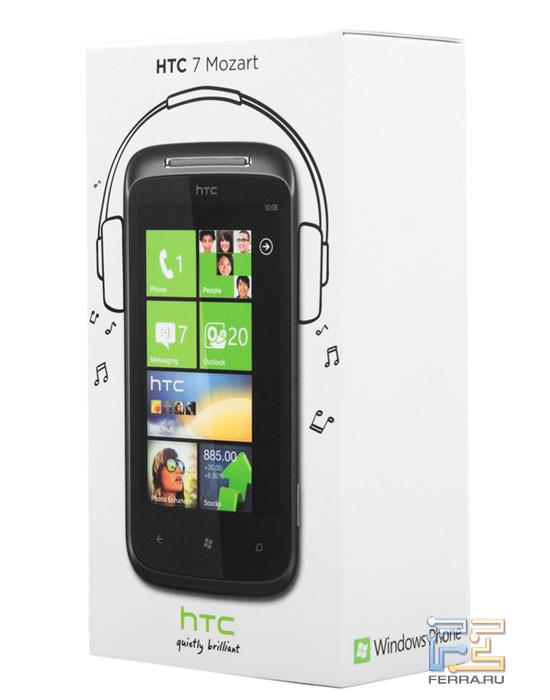 Коробка с HTC Mozart