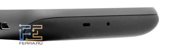 Нижний торец корпуса HTC Mozart