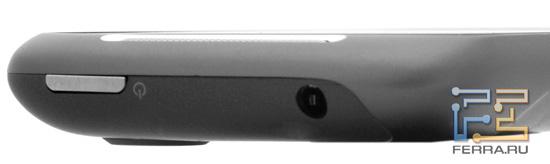 Верхний торец корпуса HTC Mozart