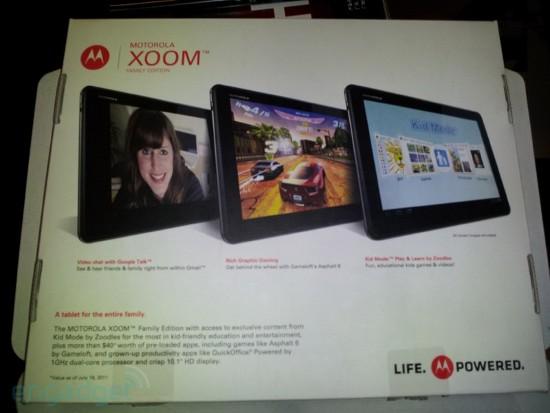 Motorola Xoom Family Edition