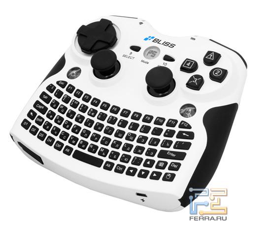 Героиня нашего обзора, Bliss Air Keyboard Conqueror, во всей красе