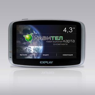 Explay навигатор gps gt5 карты