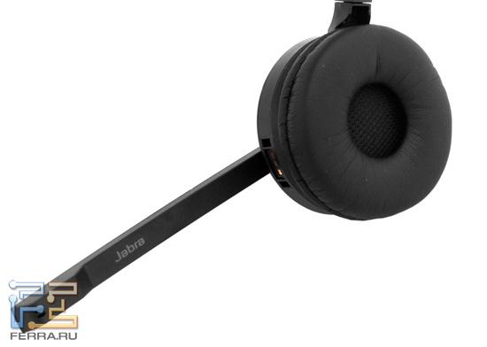 Головная дужка с амбушюрой и закрепленной гарнитурой Jabra Pro 9450