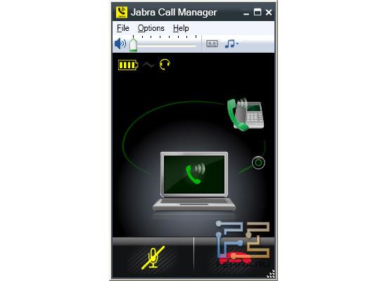 Объединение звонков в Jabra Call Manager