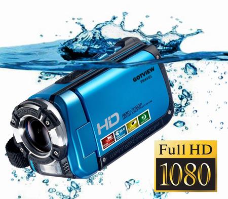 Портативная водонепроницаемая видеокамера GOTVIEW TRAVEL предназначена для...