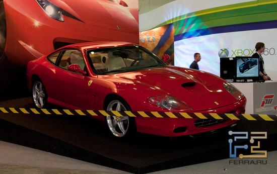Игромир 2011: красные машины ездят быстрее