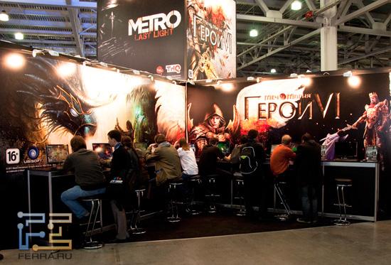 Игромир 2011: новые Герои меча и магии сменили название, но не утратили интереса игроков