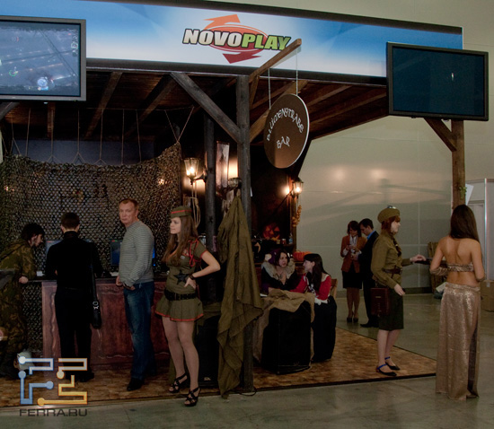 Игромир 2011: в этих трактирах не кормили, а показывали игры Novoplay