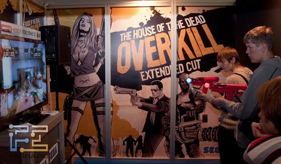 Игромир 2011: расширенная версия House of the Dead: Overkill затягивала, как хорошая мясорубка