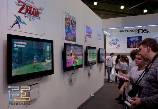 Игромир 2011: обладателям Nintendo Wii будет за чем скоротать долгие вечера
