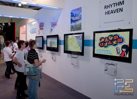 Игромир 2011: радует то, что в Россию доезжают и нишевые игры для Nintendo Wii