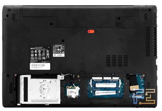 Возможности обновления Acer Aspire 5560G