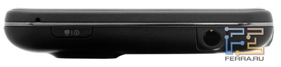 Верхняя грань LG Optimus 3D