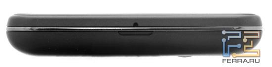 Нижняя грань LG Optimus 3D