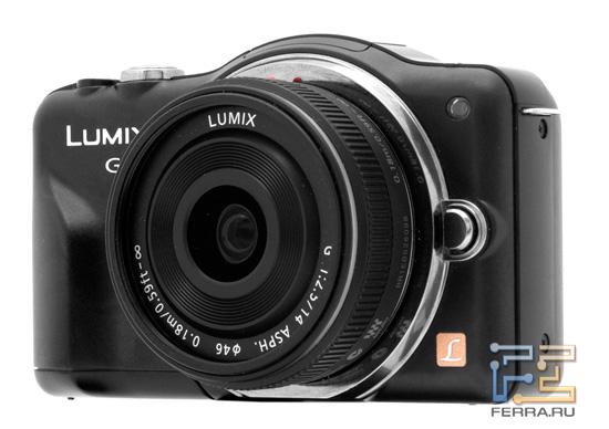 Panasonic Lumix GF3 с объективом 14/2.5