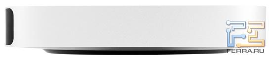 Левый торец Apple Mac mini
