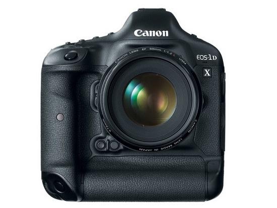 Canon EOS-1D X. Вид спереди