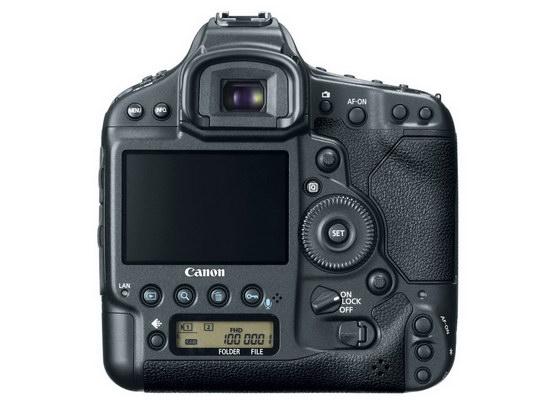 Canon EOS-1D X. Вид сзади