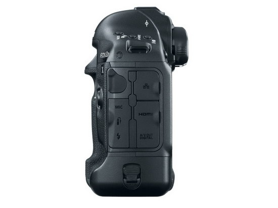 Canon EOS-1D X. Вид сбоку
