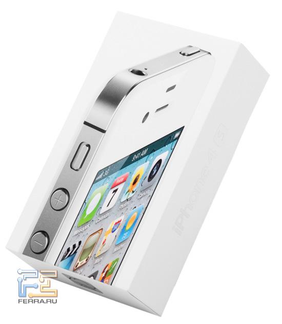 Коробка с iPhone 4S