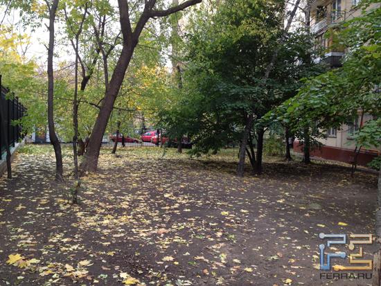 Последние дни московской осени - iPhone 4S
