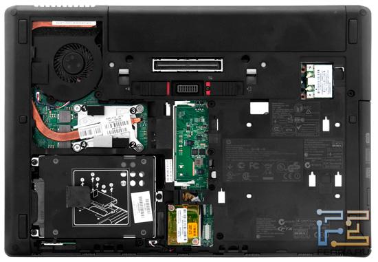 Возможности обновления HP ProBook 6360b