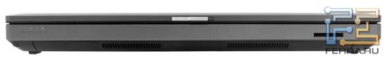 Передний торец HP ProBook 6360b: карт-ридер
