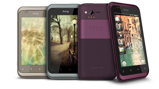 Многообразие расцветок HTC Rhyme