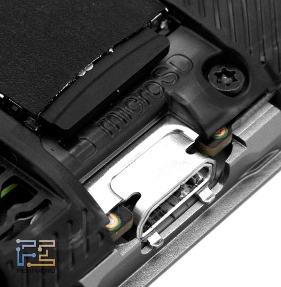 Слот для microSD-карты HTC Rhyme