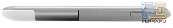 Левая боковая грань корпуса HTC Rhyme