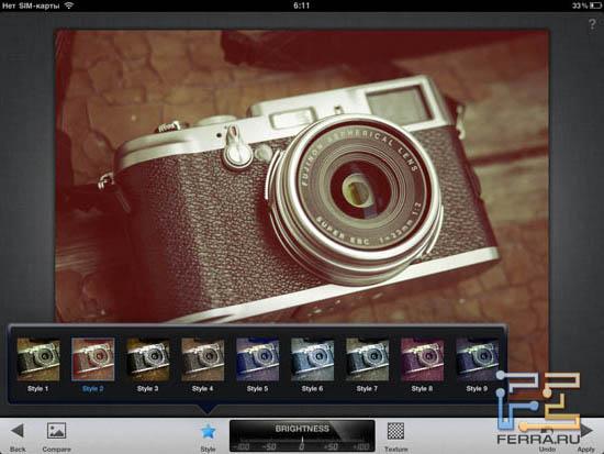 И еще один пример использования Creative Enhancements в Snapseed 1.3