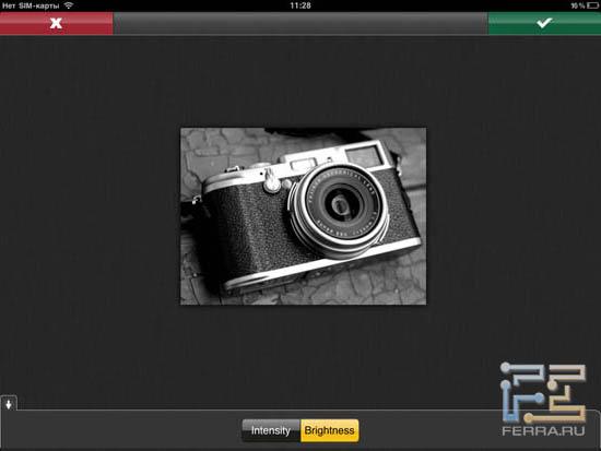 Создание черно-белого изображения в Photopad 1.4
