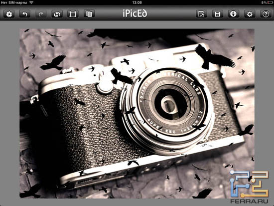 � ����� ���������� ������ ������ ������� Overlays � iPicED Lite 2.0.5