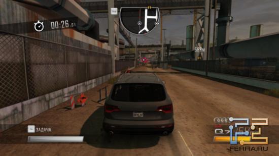 Driver: San Francisco - Тикающий таймер и сбивание фишек, увеличивающих оставшееся время - классика жанра, что тут сказать