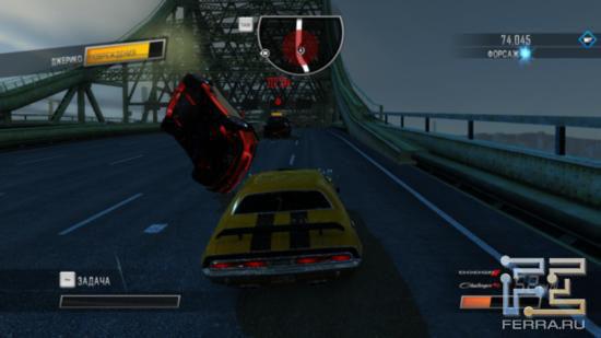 Швыряться автомобилями - последнее дело, но разве это волнует главного злодея Driver: San Francisco?