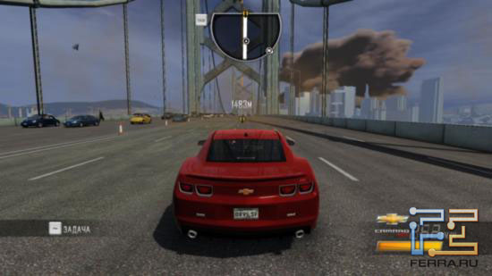 Driver: San Francisco - Что-то на этом скриншоте заставляет вспомнить о начале нулевых... Но что бы это могло быть?