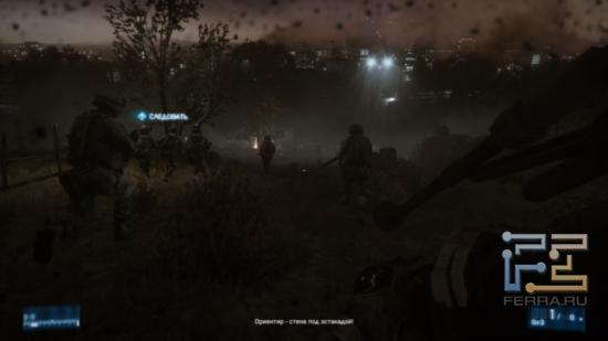 Ночная атака иранской столицы - именно то, что нужно показывать друзьям, у которых еще нет Battlefield 3