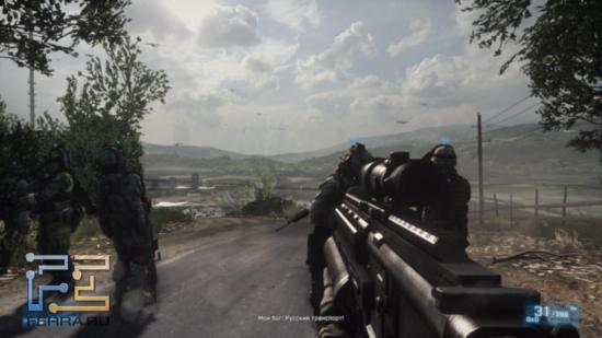 Battlefield 3 - Russian invasion