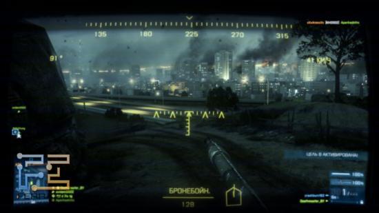 Новичкам в мультиплеере Battlefield 3 можно дать как минимум один полезный совет: находясь в бронетехнике, не ленитесь помечать цели, нажимая