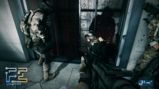 Игра света и теней в Battlefield 3 просто замечательная